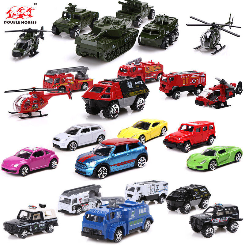 Ka alloy car model children's educational toy boy military firefighting cars gift gift set