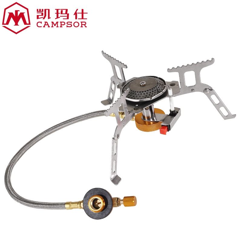 Kai mashi portable windproof picnic stove burner outdoor stove burner stoves split picnic stove cooking equipment