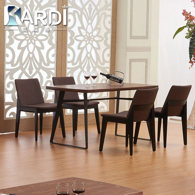 Kai ruidi nordic nordic wood dining tables and chairs all solid wood dining tables and chairs combination dinette combination of wrought iron dining table