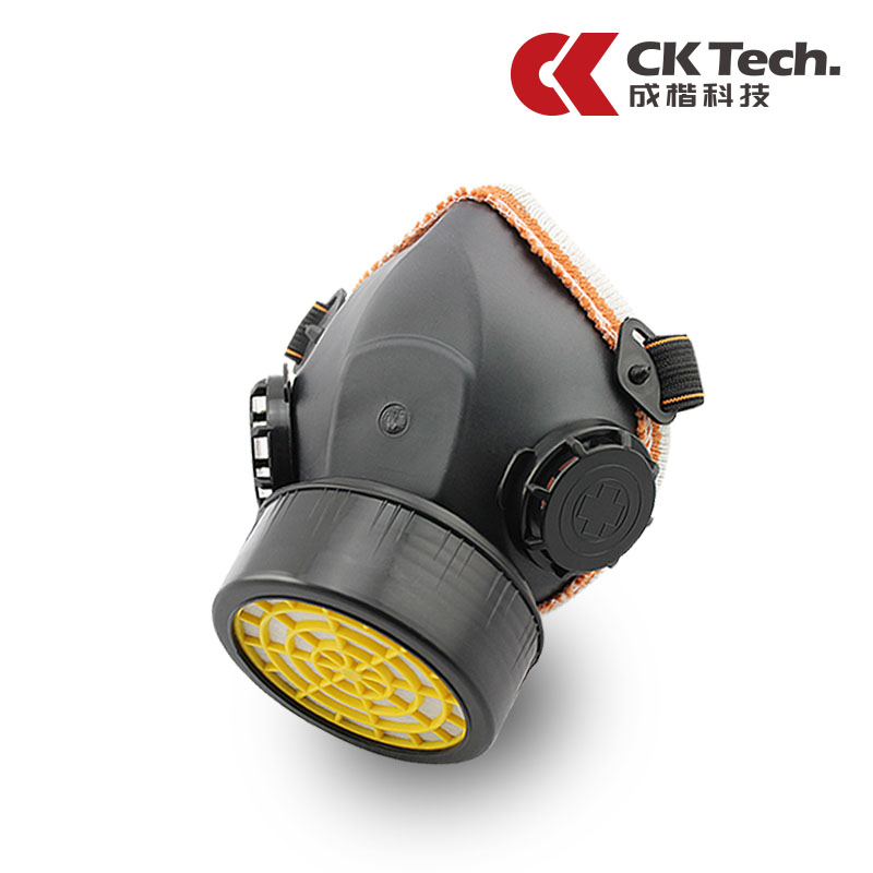 Kai technology into a single tank of gas masks formaldehyde benzene spray paint graffiti chemical industry with a dust mask