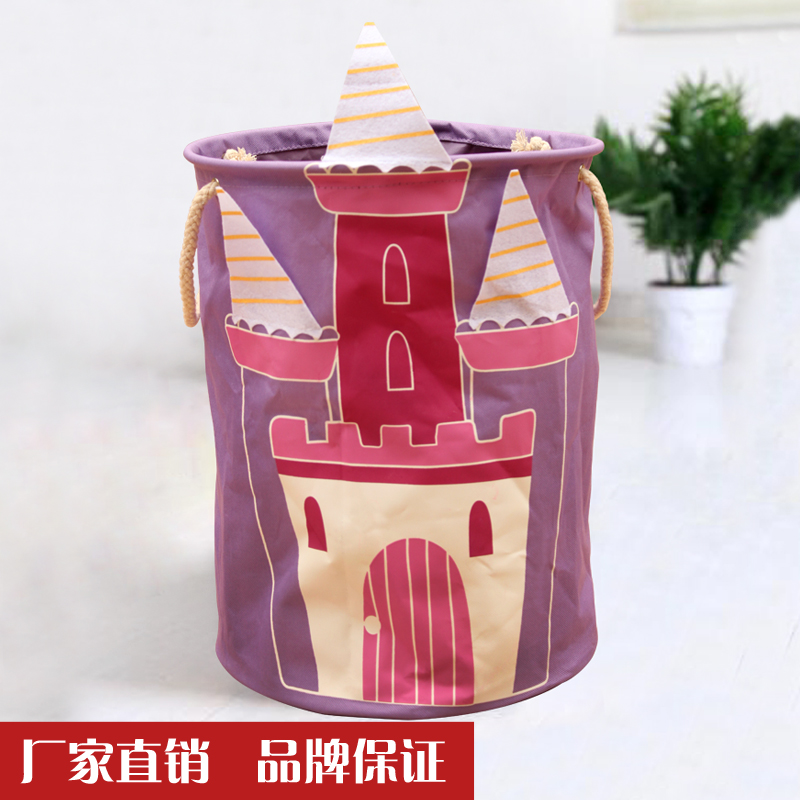 Kai yiu medium waterproof oxford cloth folding laundry basket storage basket laundry basket of dirty clothes basket box