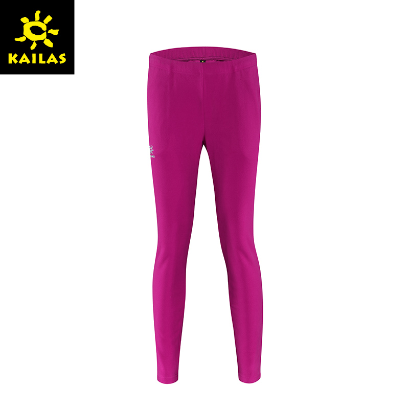 Kailas/keller stone new autumn and winter male and female models outdoor warm antistatic fleece long pants