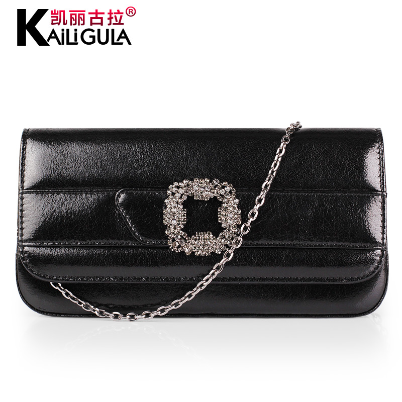 Kailigula 2016 spring new female clutch handbag fashion handbags korean version of the single shoulder bag wild chain bag