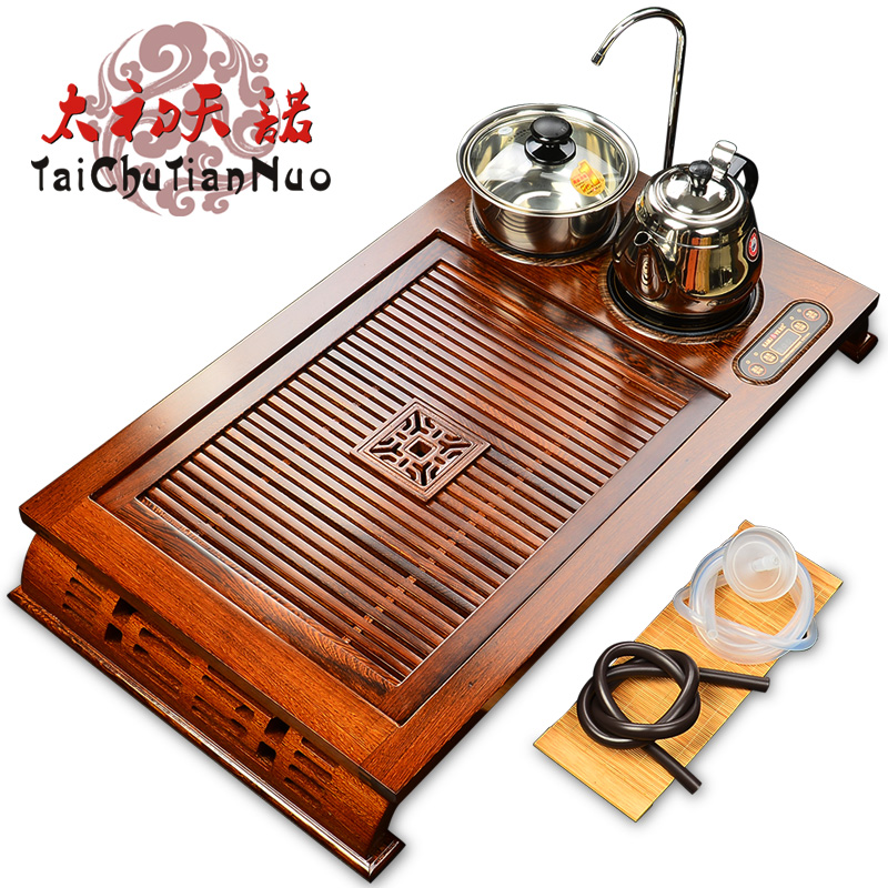 Kamjove/gold stove V210a four wood tea tray ru porcelain tea entire kung fu tea set special offer