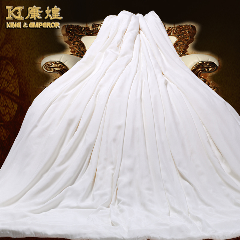 Kang huang silk is 100% mulberry silk quilt spring and winter is the core custom upscale full silk picture is thickened