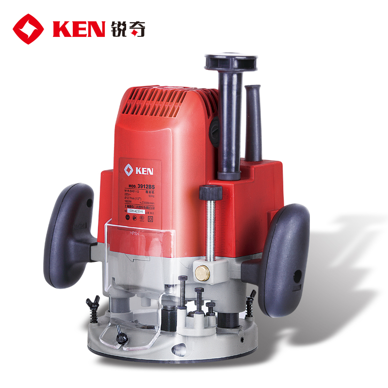 Ken carbolite 3912BS power efficient furniture woodworking engraving machine milling slotting trimming tools