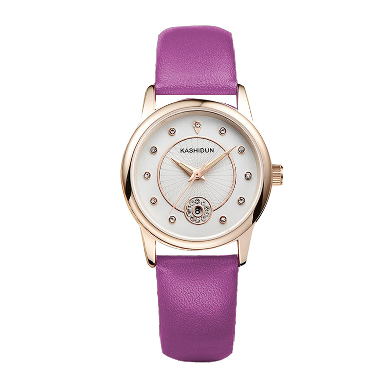 Kerastase dayton watches ladies watches genuine quartz watch waterproof watch female belt female student fashion trend luminous female form
