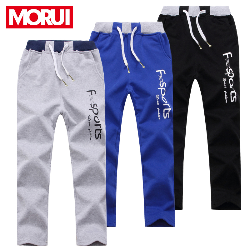 093e82194a03 Get Quotations · Kids boys autumn children s sports pants boys trousers  pants spring and summer summer thin models big