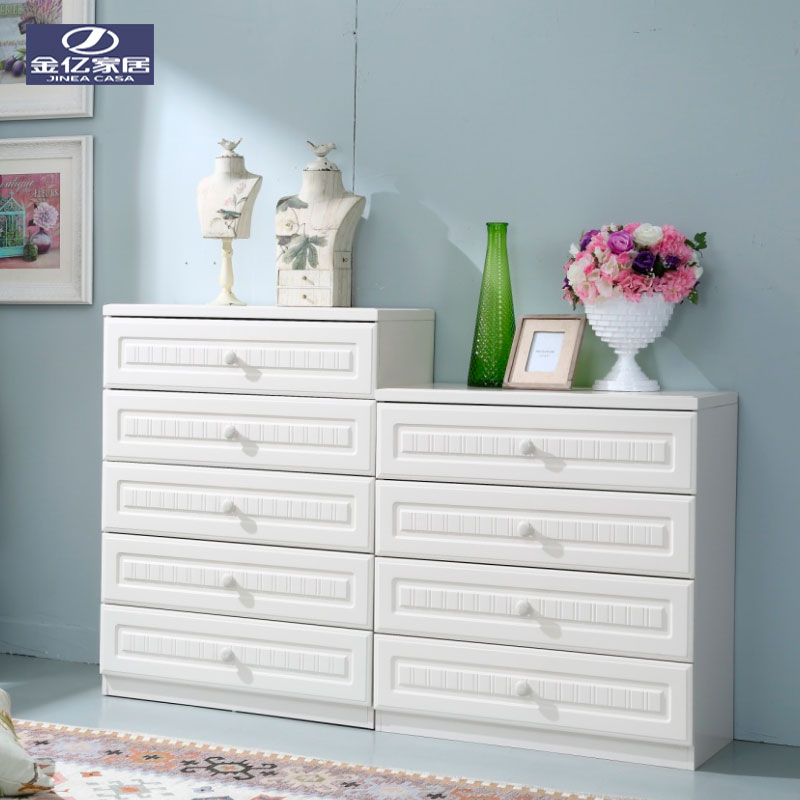 Get Ations Kim Billion Furniture Korean Modern Minimalist White Chest Of Drawers Combination Lockers Entrance Four Doo