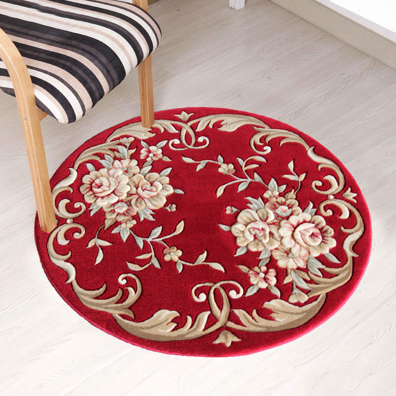 King of persia euclidian imported wool carpet rug round rug carpet modern minimalist circular living room carpet bed blanket