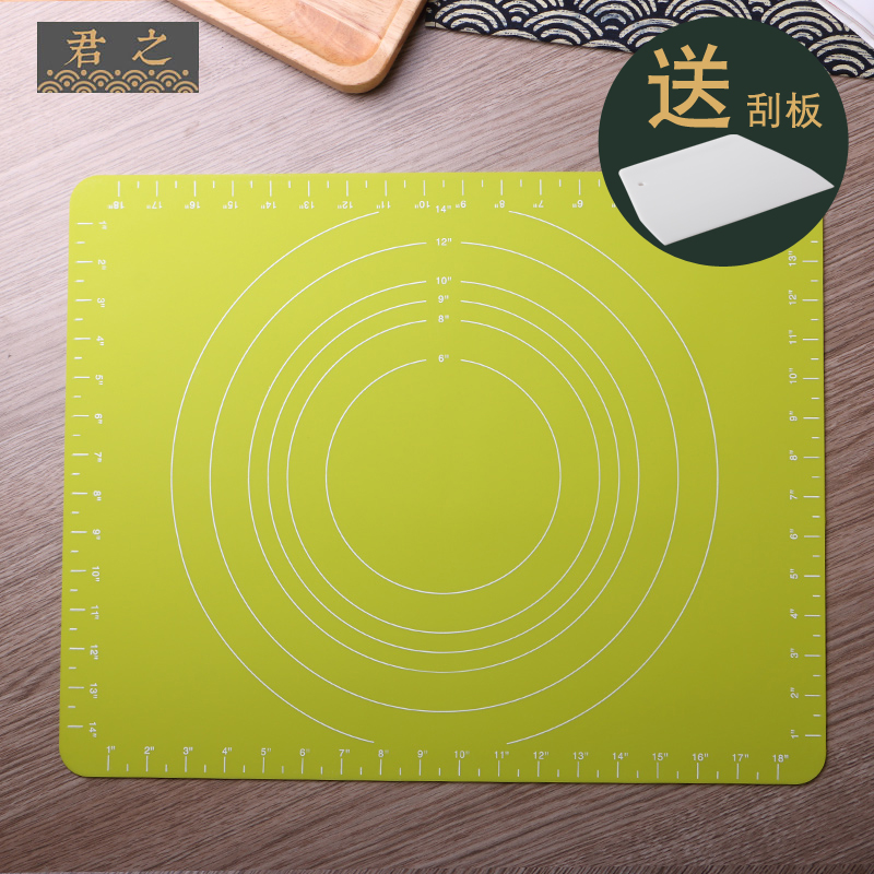 King of thick silicone baking mat dough mat large chopping board dough baking mat mat mat household ganmian