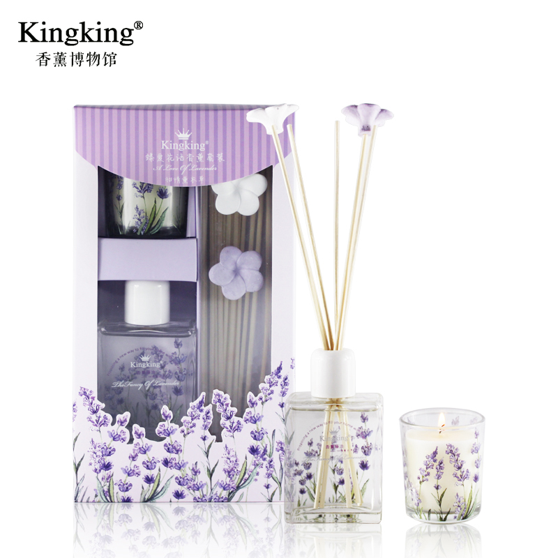 Kingking gold king aromatherapy essential oils aromatherapy kit zhen love florid indoor fresh air aromatherapy candles