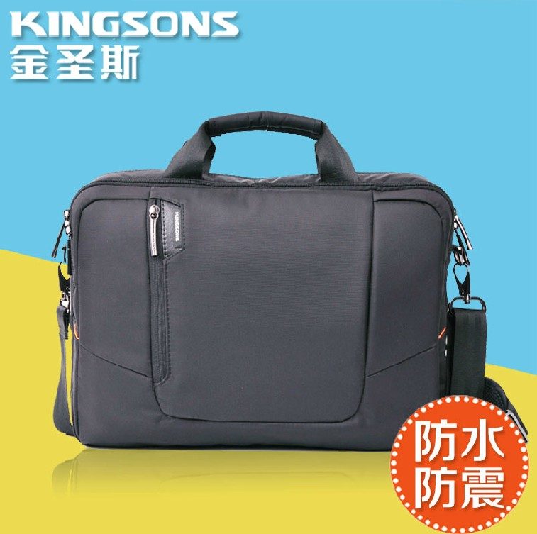 Kingsons laptop computer shoulder bag 14 inch computer bag laptop bag shoulder bag business computer bag men and women
