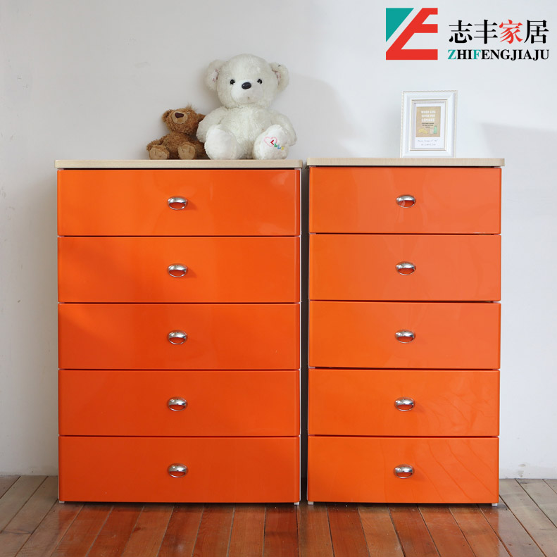 Kingstate home wanyuan hung wood top nacarat matter of colored plastic drawer storage cabinets storage cabinet finishing cabinet baby wardrobe