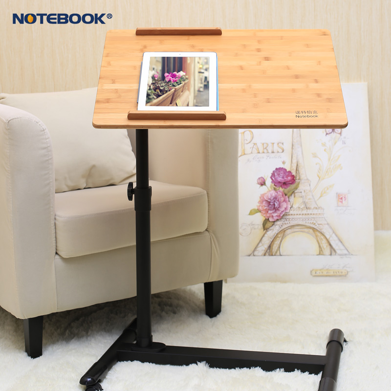 Knott burke mobile notebook computer desk bed can lift the rotating bracket simple and easy desk bedside small table