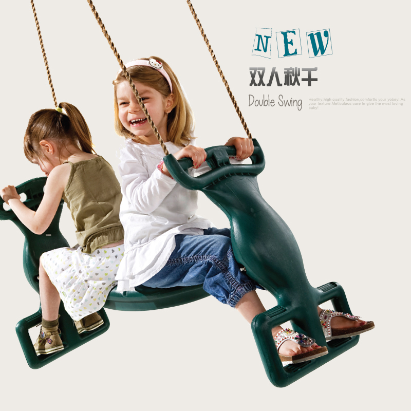 Kombo Indoor And Outdoor Hanging Chair Swing Double Swing Swing Swing For Children  Kids Toys