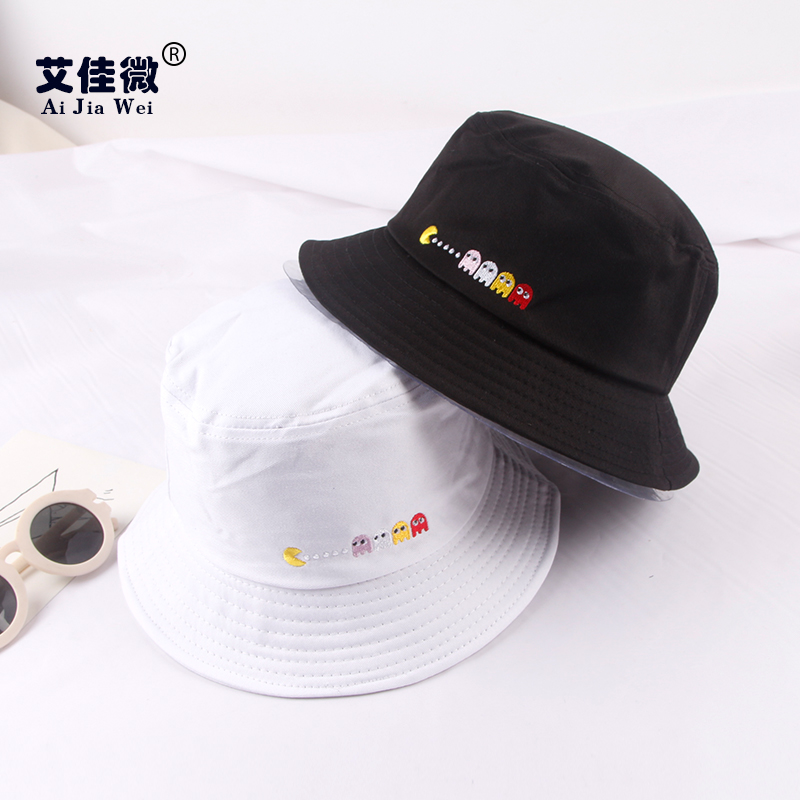 058f93953c890 Get Quotations · Korea influx of new cartoon harajuku style for men and  women wild summer women embroidered hat