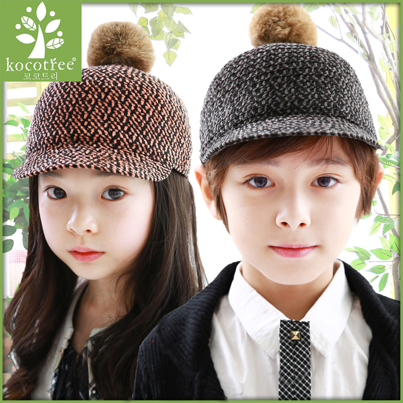 81e027da0ff Get Quotations · Korea kk tree child hat spring hat leisure hat cap  baseball cap baby boys and girls
