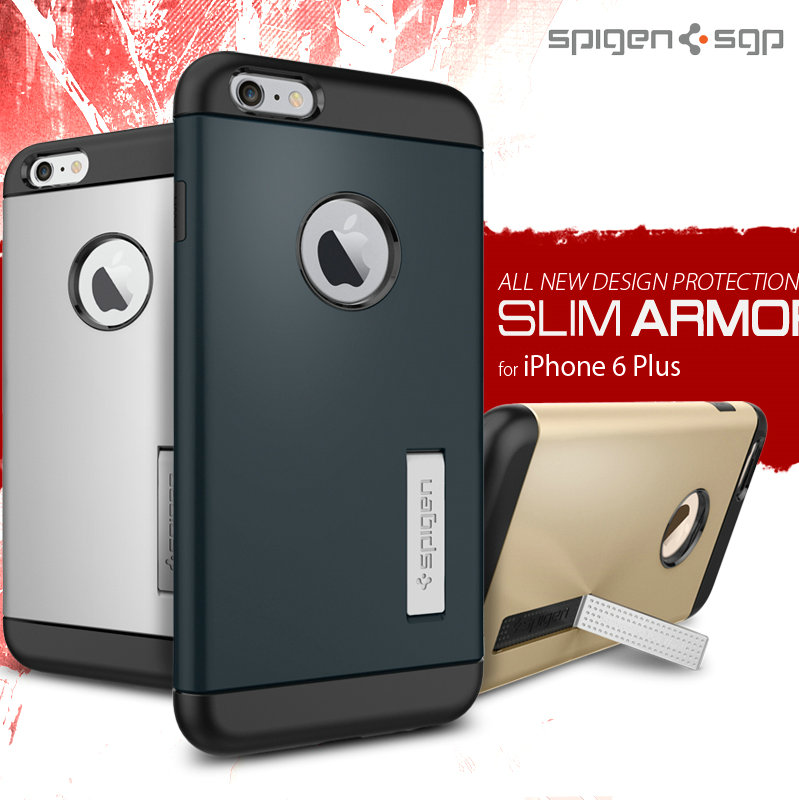 Korea spigen sgp apple 6 iphone6 plus phone shell mobile phone shell protective shell male 5.5 inch armor coat