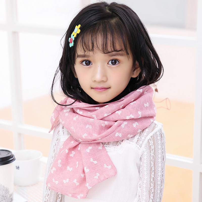 Korean children winter scarf scarves wild girls korean autumn and winter 2016 korean version of the influx of boys and girls cotton