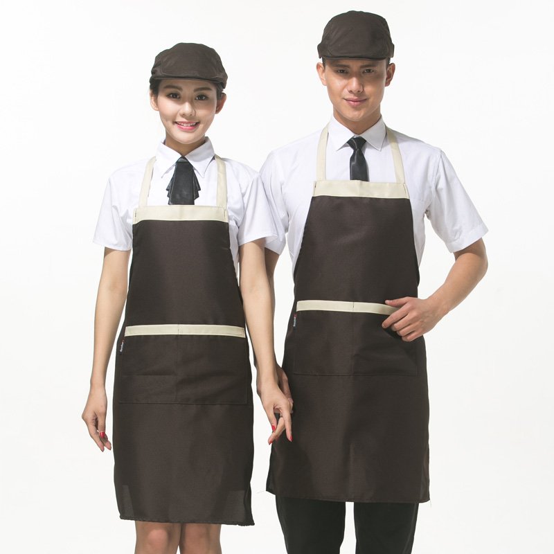 Korean fashion halter kitchen aprons apron supermarket tea shop cafe restaurant apron