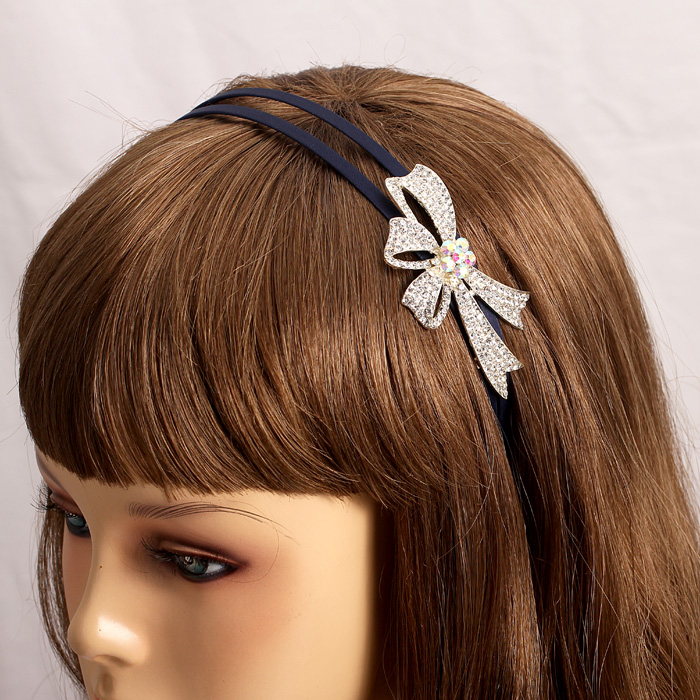 Korean hair accessories headdress korean diamond stud hoop fine hair bands hair female temperament with diamond pentagram starfish hairpin cocking