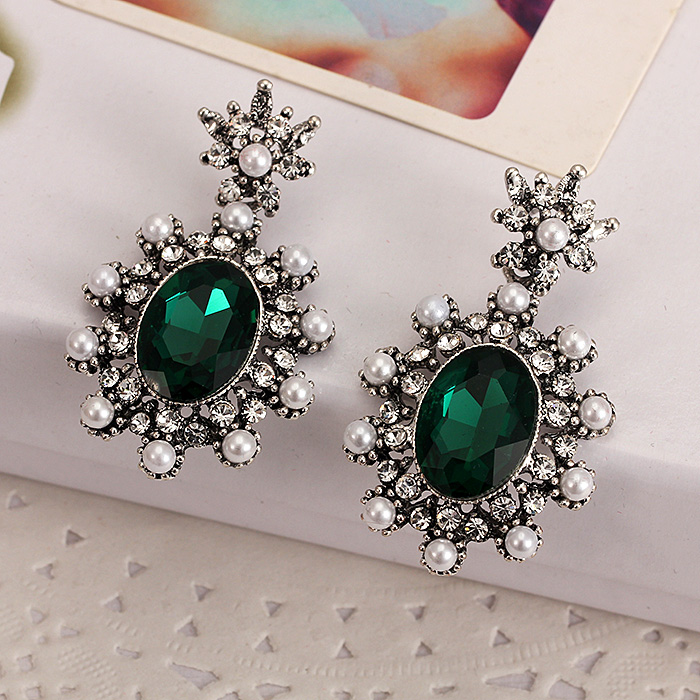 Korean temperament long section of female fashion jewelry earrings earrings earrings retro ethnic style earrings earrings korean jewelry