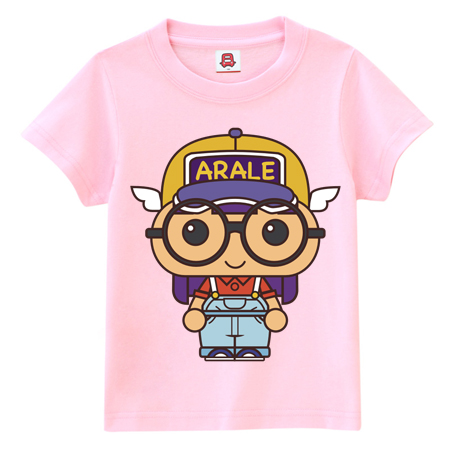 Korean version of the cartoon bus dream summer college wind cute little star dream dream 075 t-shirts for men and women girlfriends loaded