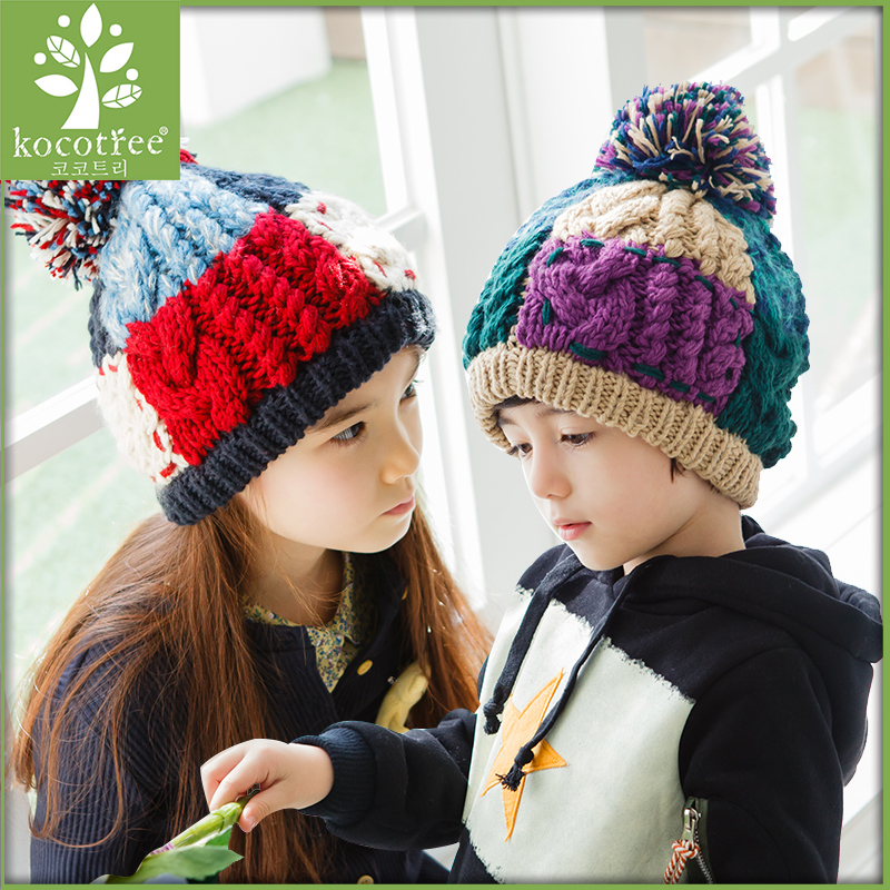 Get Quotations · Korean version of the new winter 2016 kids baby boys and  girls hat warm autumn and 7cdacf12c1f3