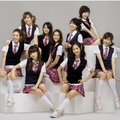 Korean version of the spring and summer of japanese high school girls school uniforms suit england college wind student uniforms uniforms uniforms performances