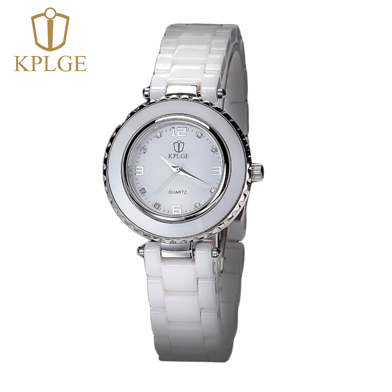 Kplge gold earl authentic ceramic watches female korean fashion waterproof quartz watch ms. female form diamond watch