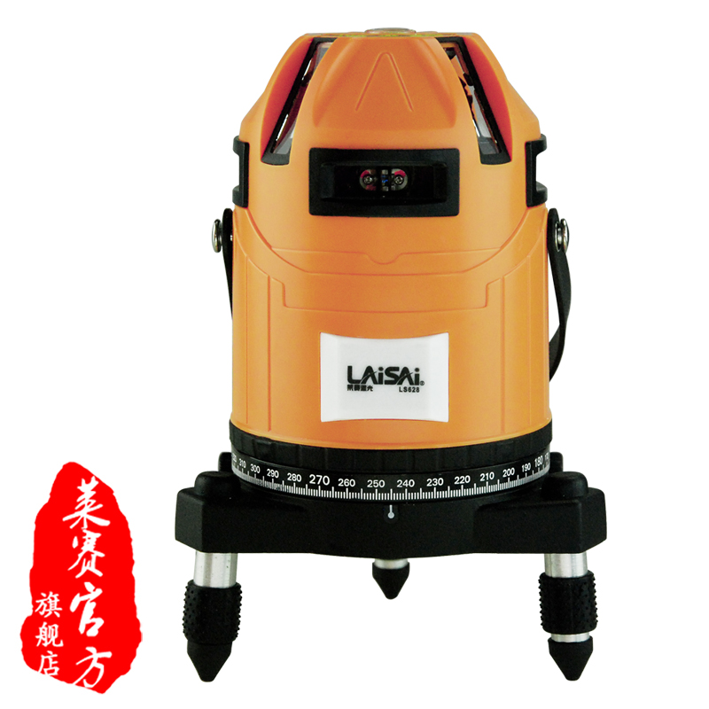 Laisai ls628 infrared 8 line of high precision electronic leveling level cast line instrument flat water meter