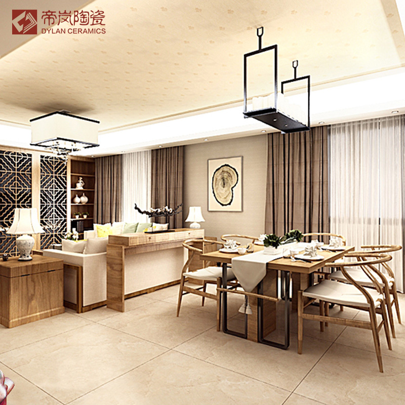 Lan di full cast glaze jade marble tiles highlight cast glaze tile living room kitchen wall tiles italian beige