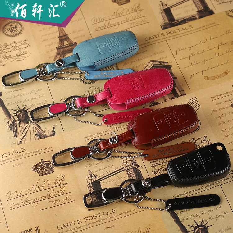 Land rover volkswagen audi bmw mercedes benz honda toyota buick modern ford peugeot car leather key cases sets