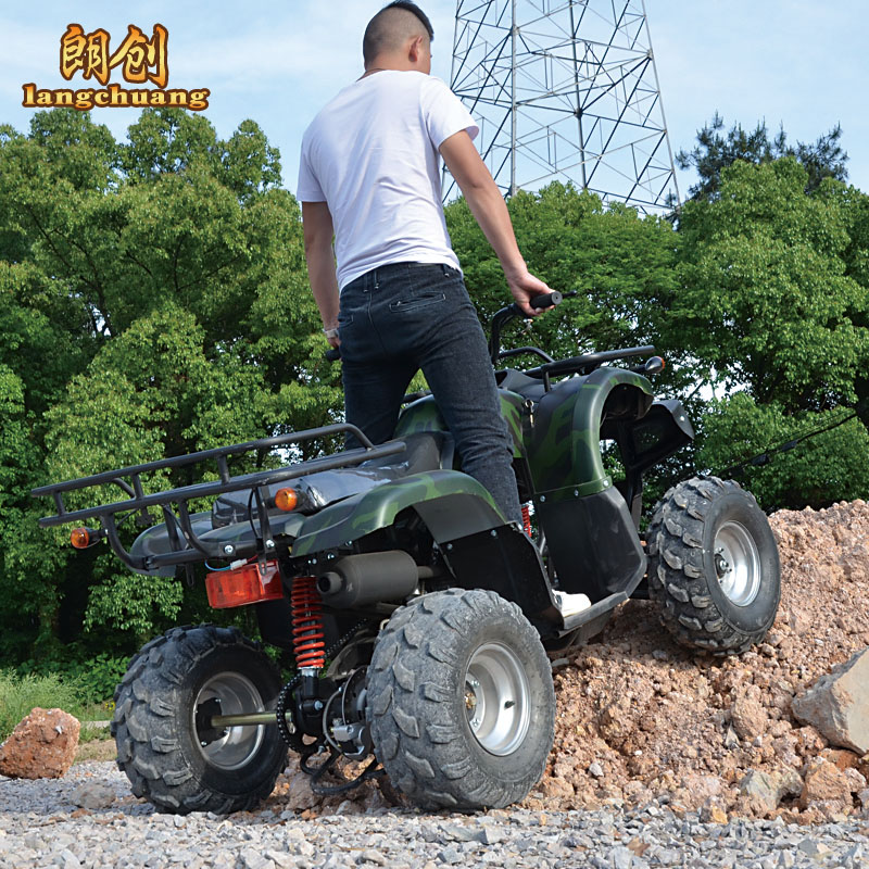 Lang lang chong 8 inch atvs big bull 150cc atv four motocross motorcycle