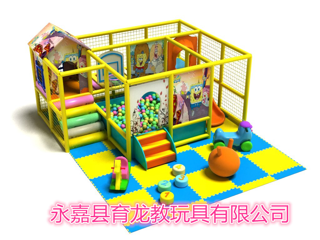Large fort naughty children's playground indoor playground equipment playground equipment children's play toys