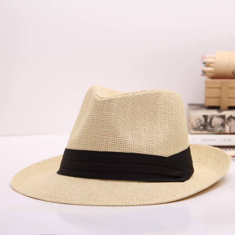 0917246aec18a Get Quotations · Large size men and women straw hat summer hat sun shade  around the bulk of the