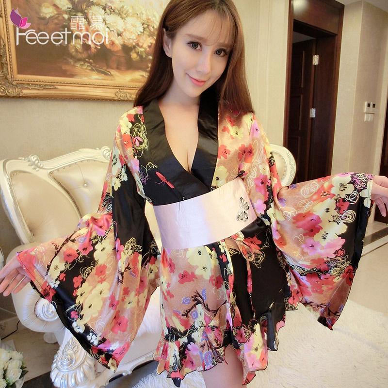 0d6fdc29ef Get Quotations · Large size sexy lingerie uniform temptation suit japanese  kimono sexy uniform temptation fat mm female sao
