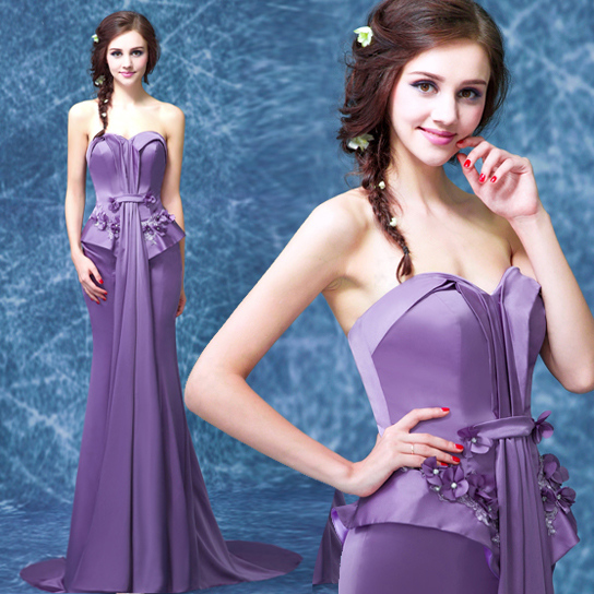 China Lavender Wedding Dress, China Lavender Wedding Dress Shopping ...