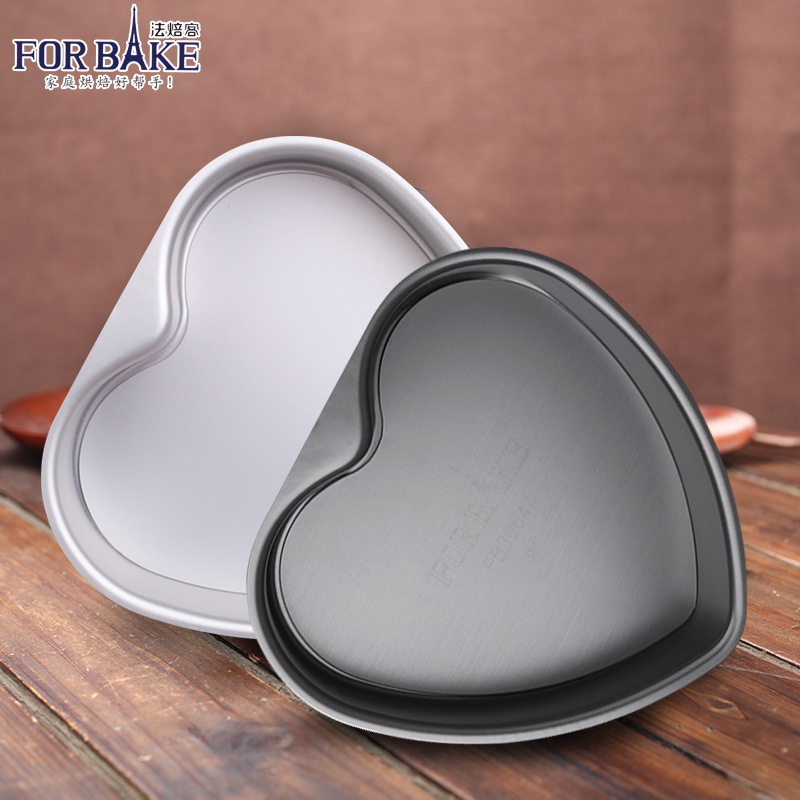 Law off baking live bottom cake mold heart shaped 6 inch 8 inch die chiffon anode baking oven baking mold