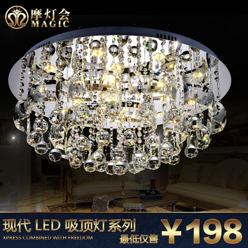 Get Quotations · Led Crystal Ceiling Mount Lantern Lighting European  Atmospheric Lighting Living Room Modern Minimalist Bedroom Lamp Cozy Part 76