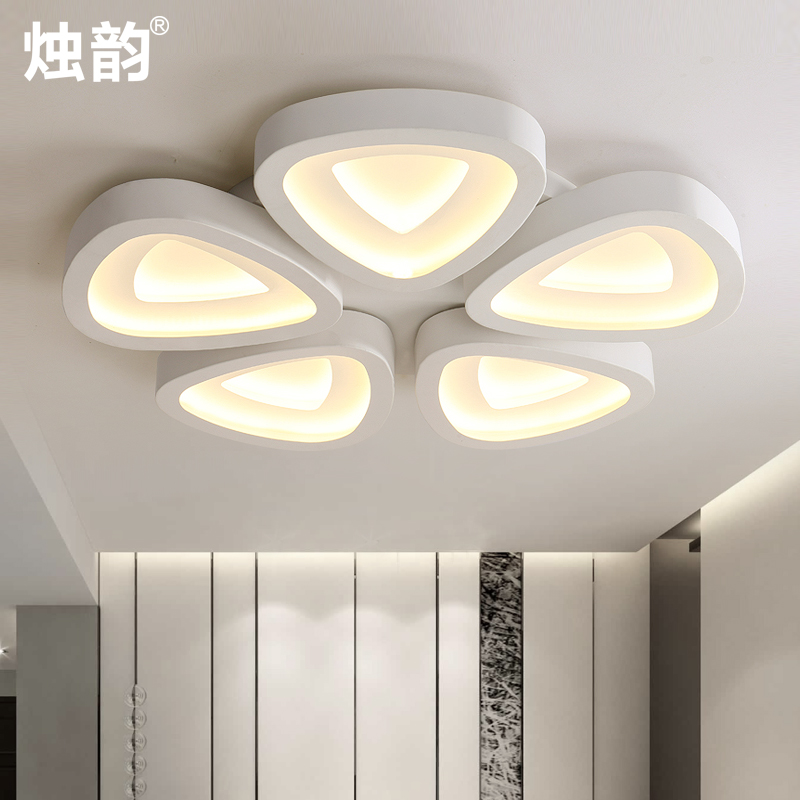 Led modern minimalist living room lamp bedroom lamp restaurant lights stylish atmosphere art ceiling lights shaped lamps