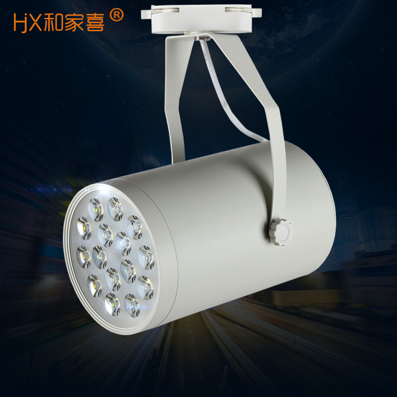 Led track lights 15w20w30w industrial slideways projection lamp light clothing store window lights cast light bulb