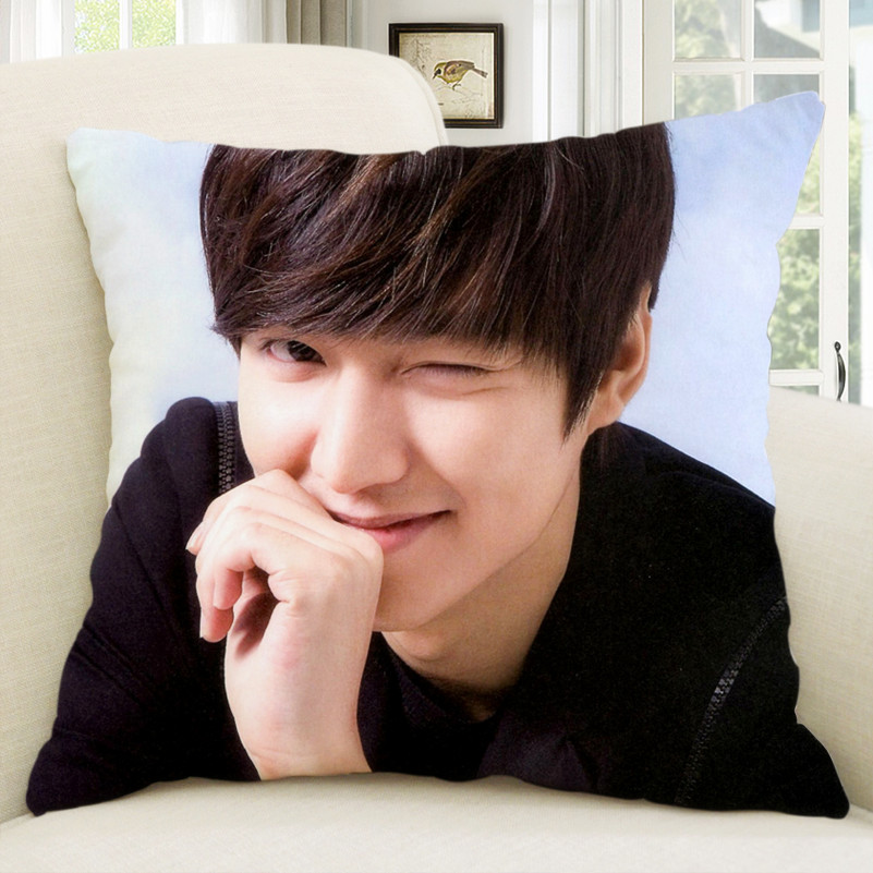 Lee min ho lee min ho creative diy custom valentines day gifts cushion pillow head custom made to order