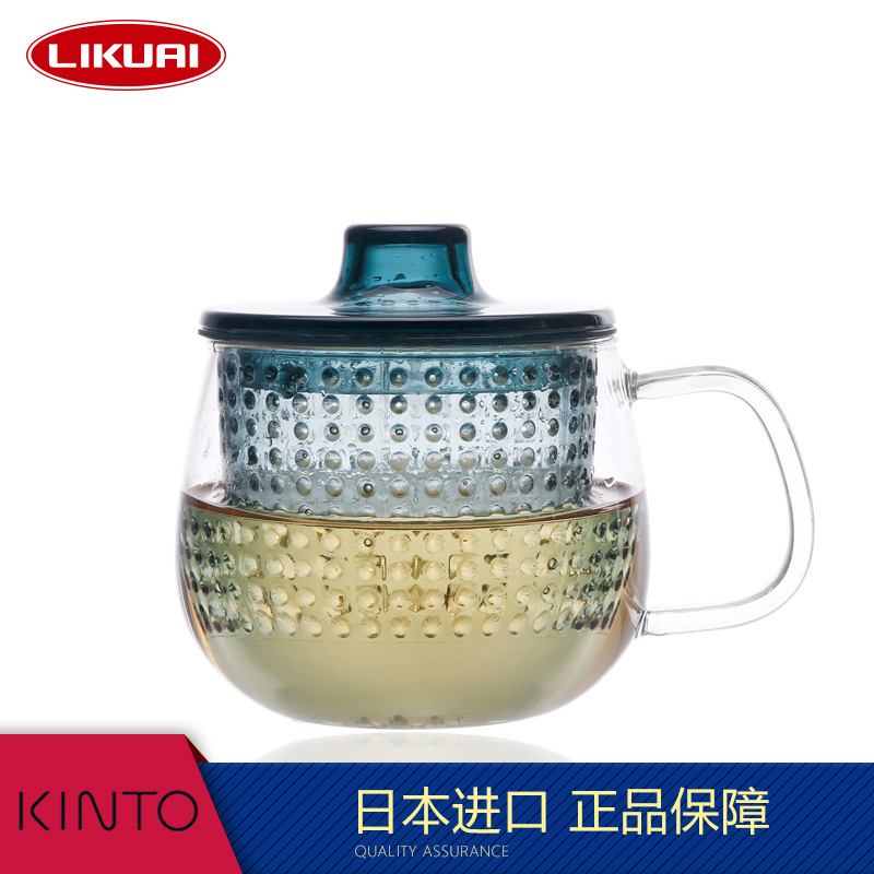 Lee quickly imported from japan kinto ml resistant glass teapot filter tea cup free shipping