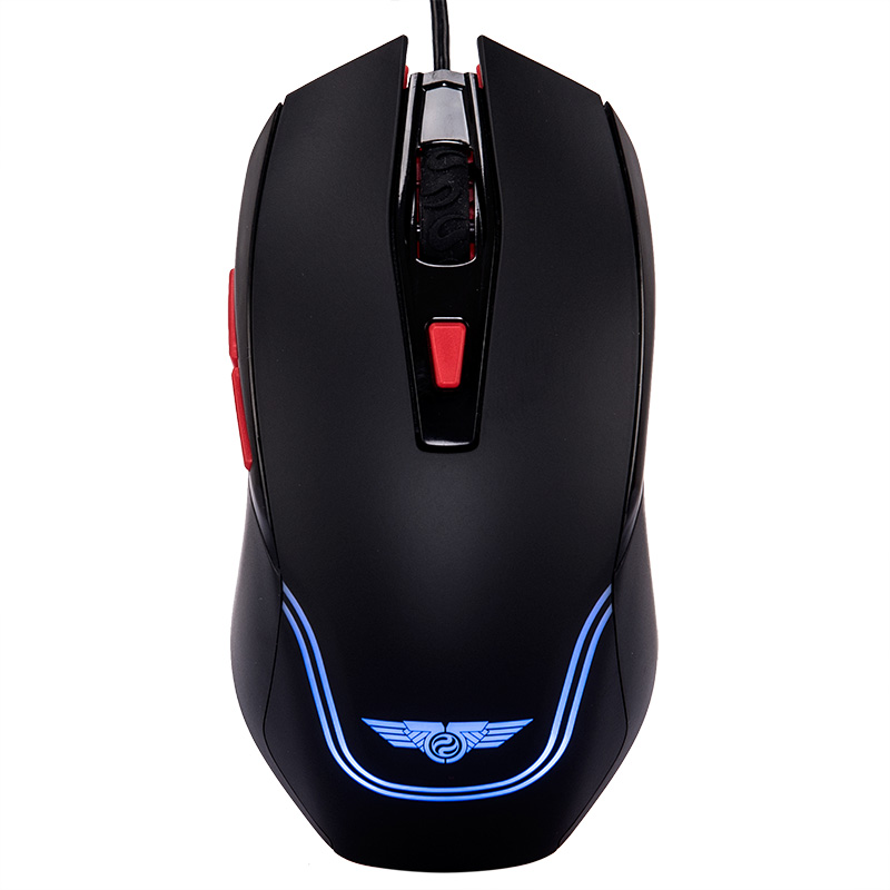 Leopard shark hunting upstart 2200 wired optical gaming mouse gaming mouse game mouse luminous