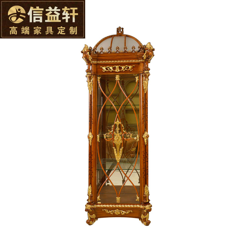 Letter benefits xuan italian royal palace of luxury european wine cooler wine cooler living room carved wood single door locker