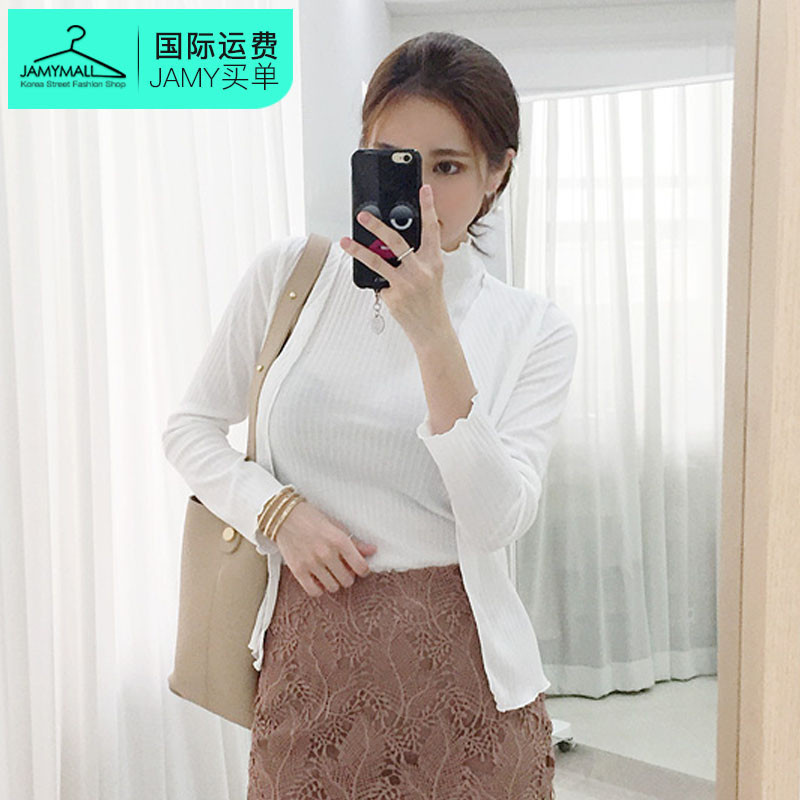 Letter dated 2016 from the classic charm of autumn new authentic korean fashion personality leisure suit