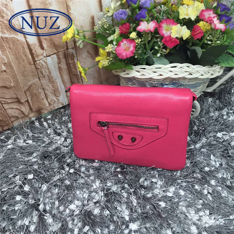 Letter dated 2016 from the nuz mini solid summer new fashion ladies bag motorcycle bag hand shoulder bag 2489
