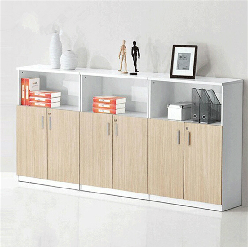 Li edge wooden office furniture file cabinet office cabinet cabinet modern minimalist plate office bookcase